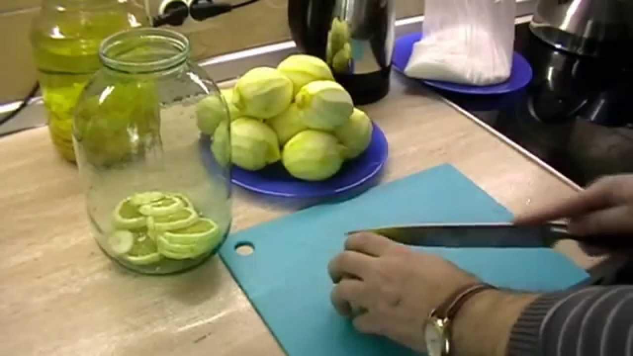 Приготовление лимончелло в домашних условиях