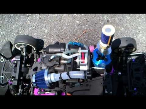 RC Nitro Supercharger Redcat , Sonic 1/10 Scale ( Part 1 ).