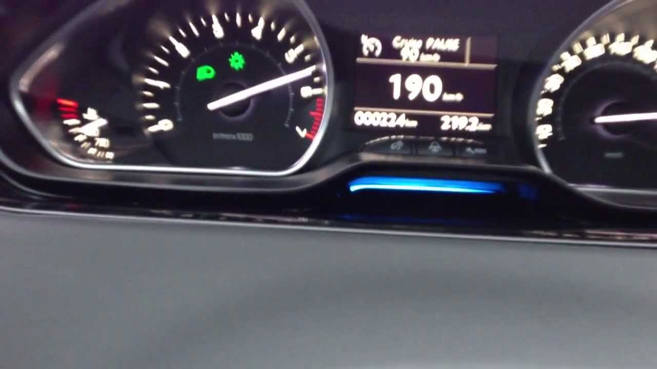 peugeot 208 acceleration 120 vti youtube