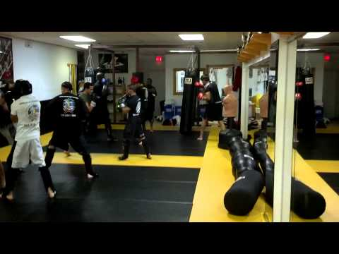 Kick Boxing Sparring July 2013 Video 2