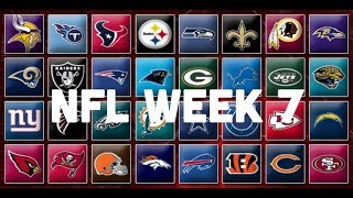 NFL Week 7 Picks & Predictions 2018 | 2019
