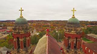 Eau Claire, Wisconsin from Above - UHD