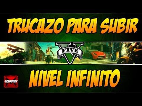 NUEVO TRUCO GTA V ONLINE: Como subir de nivel muy rapido - RP infinito | Glitch nivel facil