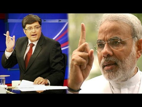 The Newshour  Debate: Narendra Modi Vs All - Full Debate (13th Oct 2014)