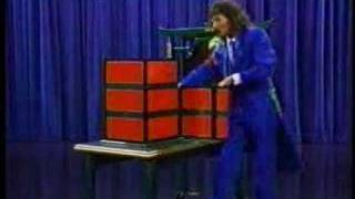 Doug Henning presents the Origami illusion