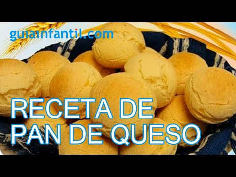 Pan de queso. Video de la receta paso a paso