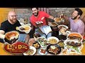 Eating DOG FOOD at Lazy Dog w/ Josh Elkin | Going In