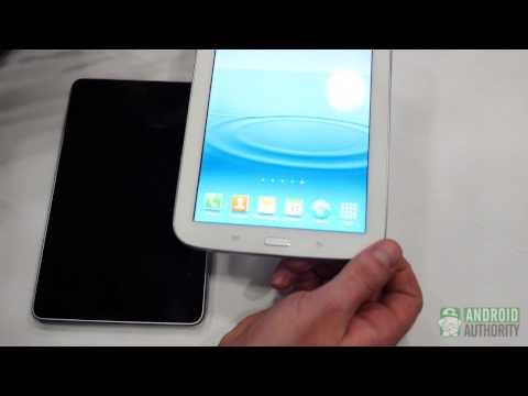 Samsung Galaxy Note 8.0 vs Google Nexus 7 - first look!