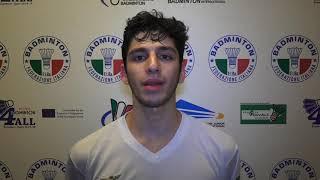 Campionati Italiani Assoluti 2019 | Singolare Maschile, le parole dei finalisti