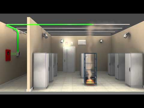 Stat-X Fire Suppression Animation