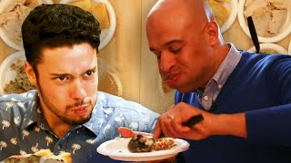 Regular People Vs. Competitive Eater: Thanksgiving Dinner
