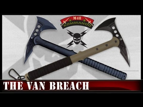 United Cutlery M48 Hawk Axe - The Van Breach