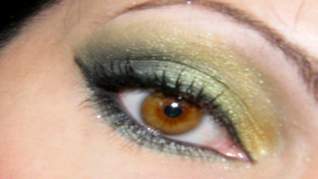 maquillage des yeux simple et vert youtube. Black Bedroom Furniture Sets. Home Design Ideas