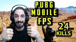 PUBG Mobile #FPP - BOT TEMİZLİĞİ 24 KILLS :)