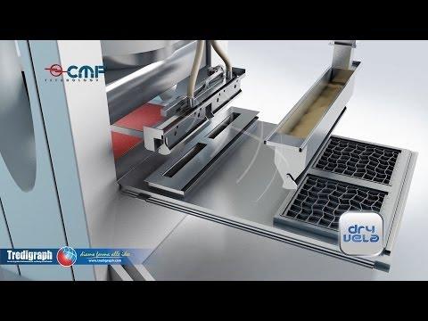 CMF Technology – Dry Vela – Piastrelle in doppio caricamento – Animazione 3d www.tredigraph.com