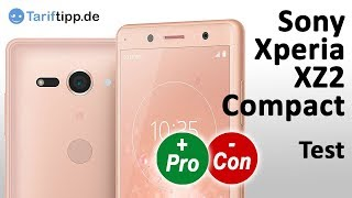 Sony Xperia XZ2 Compact | Test (deutsch)