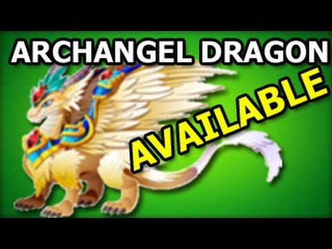 ARCHANGEL DRAGON Dragon City Habitat and Level