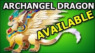 ARCHANGEL DRAGON Dragon City Habitat and Level Up Fast Review Yo