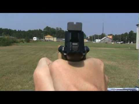 Sig Sauer P226 X-Five Open Replica Gas BB Pistol.mpg