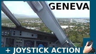 [FSX] Geneva Landing (+ Joystick)