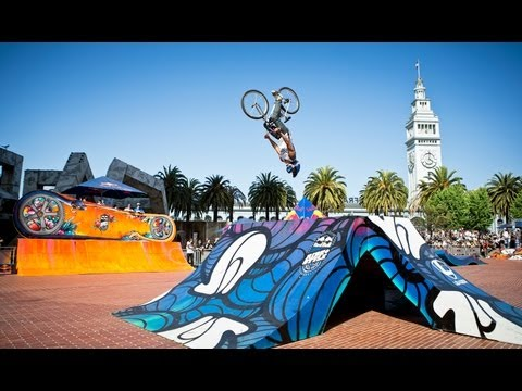 Fixed Gear & Street Art Contest - Red Bull Ride + Style 2013 San Francisco
