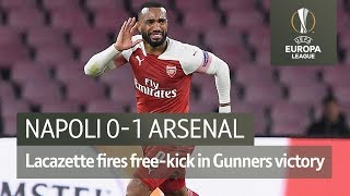 Napoli vs Arsenal (0-1) | UEFA Europa League Highlights