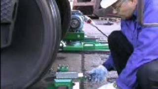 Rail wheel truing