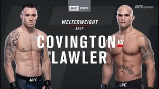 UFC on ESPN 5: Colby Covington vs Robbie Lawler Recap