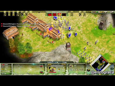 Age of Mythology - The Titans - Campanha Titans (Level 03) - Ep.32