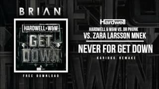 Get Down vs. Never Forget You (Hardwell Mashup) [KARIOKO Remake]