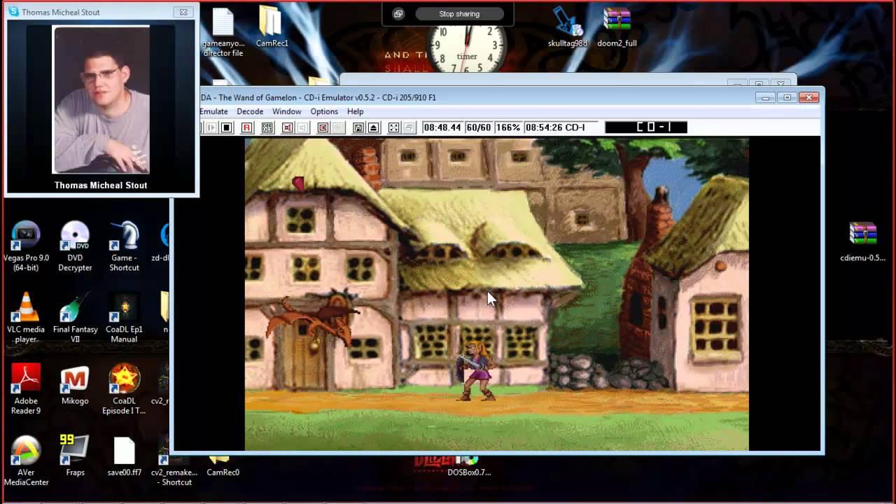 CRAPPY CDI Emulator Zelda Wand of Gamelon  YouTube