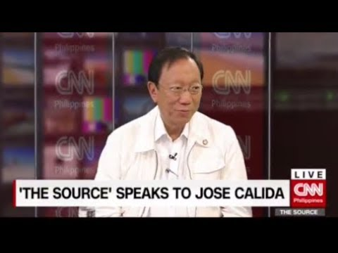 'The Source' speaks to Solicitor General Jose Calida