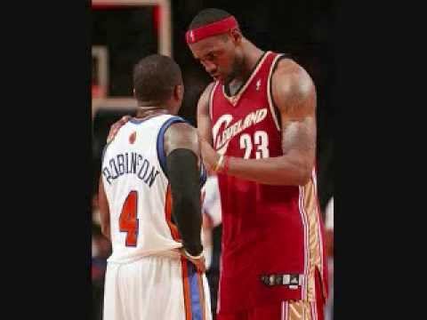 lebron james shows nate robinson whos boss youtube
