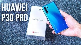 Распаковка Huawei P30 Pro 🔥 ПОЛНЫЙ ОБЗОР и ОПЫТ пользования