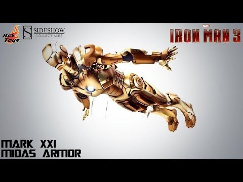 Video Review of the Hot Toys: Iron Man Mark XXI