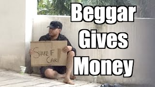 Beggar Social Experiment (Gone Right) - Maxmantv