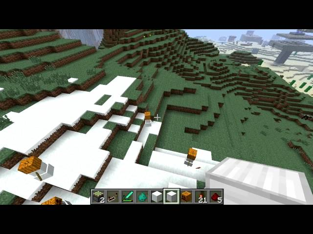 Video title is: Como Fazer um Snow Golem no Minecraft This video was