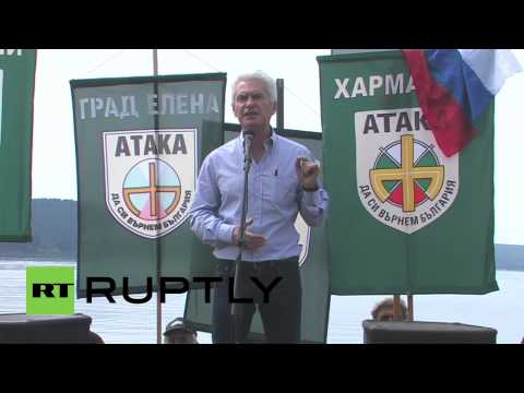 "Bulgaria: ""Power is growing and frightening American aggressors"" - Siderov"