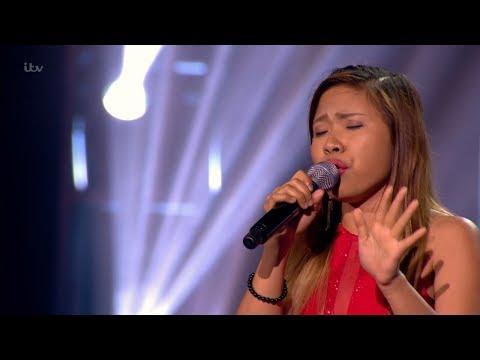 The X Factor UK  Alisah Bonaobra Six Chair Challenge  Clip S14E12