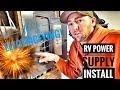 RV POWER SUPPLY INSTALLATION FOR UNDER $50