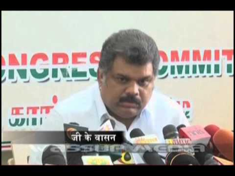 G K Vasan too wants CHOGM venue shifted out of Colombo