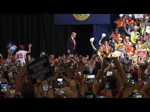 Trump Continues Attacks Against Media, Democrats