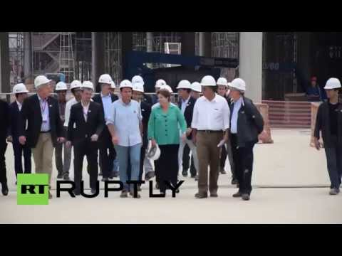Brazil: Rousseff sizes up Olympic digs FOUR days before elections