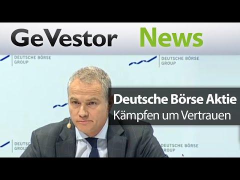 Gute Zahlen und dicke Luft – Deutsche Börse kämpft um Vertrauen