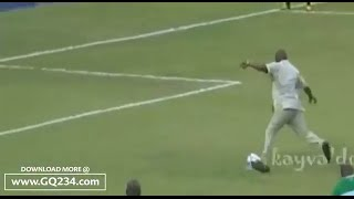 Governor Nyesom Wike Beautiful Penalty Kick vS Vincent Enyeama @ Joseph Yobo Testimonial