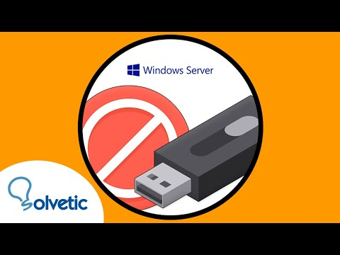 Bloquear dispositivos USB en el dominio con GPO Windows Server 2016