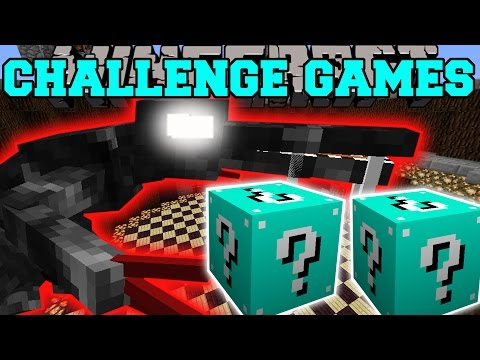 Minecraft: Alien Challenge Games - Lucky Block Mod - Modded Mini-game video