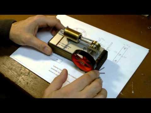 Videocorso per la costruzione di un modello di motore a for Modelli di case da costruire