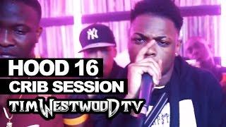 Hood 16 Yxng Bane, Kojo Funds freestyle - Westwood Crib Session