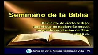 Seminario de la biblia de la iglesia de Lima _dia 3_junio2018_Pastor Jose Kim.